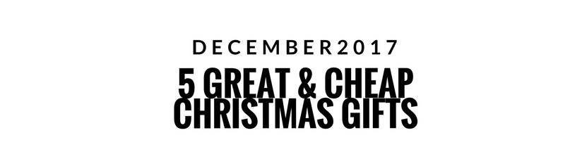 helping people getting great gifts includes helping people on a strict budget in this article we have put together 5 really great gifts that do not require - Great Cheap Christmas Gifts